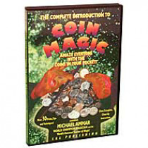 Complete Introduction to Coin Magic - Michael Ammar (DVD)