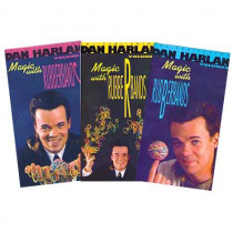 Magic with Rubberbands by Dan Harlan Vol 2 (DVD)