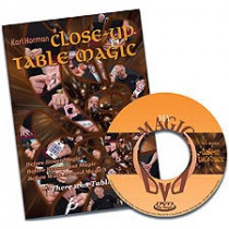 Close-Up Table Magic by Karl Norman (DVD)