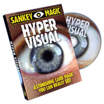 Hypervisual (With Cards) by Jay Sankey (DVD)