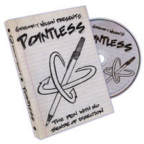 Pointless (With Gimmick) by Gregory Wilson (DVD)