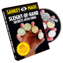 Sleight Of Hand With Coins by Jay Sankey (DVD)