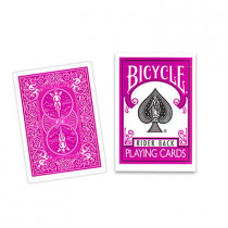 Bicycle Fuchsia ( Pink) Playing Cards by USPCC