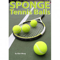 Sponge Tennis Balls (Set of 4) by Alan Wong