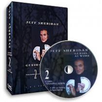 Jeff Sheridan Genius At Work Vol 2 - Card Manipul. (DVD)