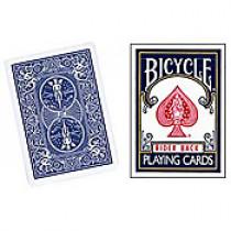Bicycle Forcing - Forcierdeck dreifach (blau)