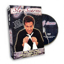 Sly Scarves by Tony Clark (DVD) + Silks