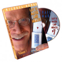 Easy to master card miracles by Michael Ammar Vol 7 (DVD)
