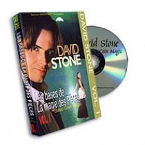 Basic Coin Magic vol.1 by David Stone (DVD)
