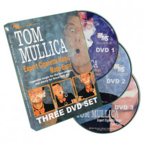 Expert Cigarette Magic Made Easy - 3 DVD Set by Tom Mullica
