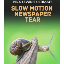 Nick Lewin's Ultimate Slow Motion Newspaper Tear