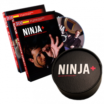 Ninja+ Deluxe BLACK (Gimmicks & DVD) by Matthew Garrett