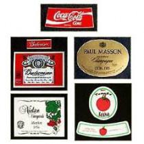 Etikette für Verschwindende Flasche: Cola