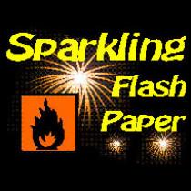 Sparkling Flash Paper - Funkelndes Pyro Papier - Panda Magic