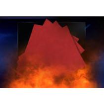 Pyro Papier rot  (Flash Paper) - Panda Magic