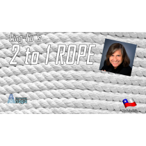 2 TO 1 Rope (White) by Aprendemagia