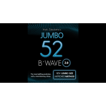 52 B Wave Jumbo 2.0 (Gimmicks and Online Instructions) by Vernet Magic