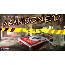 Abandoned RED (Gimmicks and Online Instructions) by Dennis Reinsma & Peter Eggink