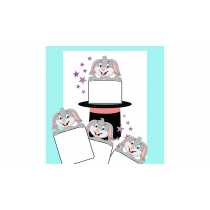 Cardiographic LITE ACTION BUNNY ADD ON (Blank Card) by Martin Lewis - Trick