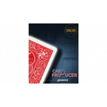 Card Production Gimmick Red by Sorcier Magic