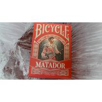 Bicycle Matador (Red) Playing Cards