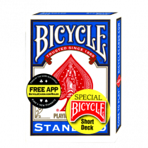 Bicycle Short Deck (Blue) by US Playing Card Co. - Trick