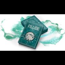 Fillide: A Sicilian Folk Tale Playing Cards (Acqua) by Jocu