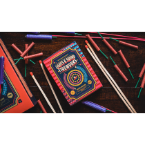 Fireworks Playing Cards by Riffle Shuffle