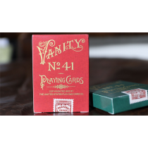 Limited Edition Late 19th Century Vanity Creature (Red) Playing Cards