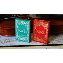 Vivaldi Allegro Playing Cards / green Deck