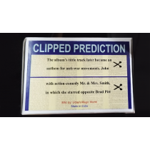CLIPPED PREDICTION (Lennon/Brad Pit) by Uday