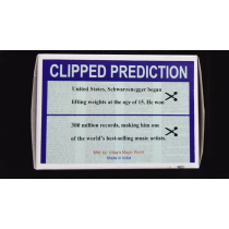CLIPPED PREDICTION (Schwarzenegger/Elton) by Uday
