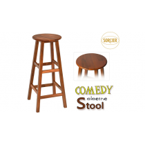 Comedy Electric Stool (Wood) by Sorcier Magic
