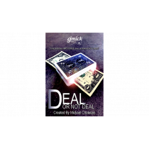 DEAL NOT DEAL Red (Gimmick and Online Instructions) by Mickael Chatelain