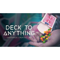 Deck To Anything (DVD and Gimmick) by SansMinds Creative Lab - DVD