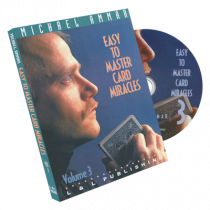 Easy to Master Card Miracles Volume 3 by Michael Ammar - DVD