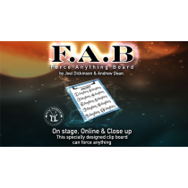 FAB BOARD A4/BLUE (Gimmicks and Online Instruction) by Joel Dickinson & Andrew Dean