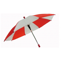 Flash Parasols (Red & White) 1 piece set by MH Production / Sonnenschirm