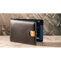 FPS Wallet Black (Gimmicks and Online Instructions) by Magic Firm