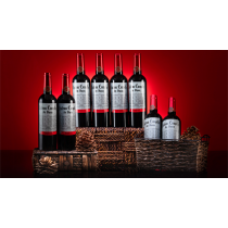 Hamilton Multiplying Wine Bottles by Tora Magic