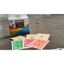 HUE Red (Gimmicks and Online Instructions) by Kaan Akdogan and MagicfromHolland