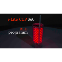 I-Lite Cup 360 Red by Victor Voitko (Gimmick and Online Instructions)
