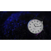 Infinity Watch V3 - Silver Case White Dial / STD Version (Gimmick and Online Instructions) by Bluether Magic