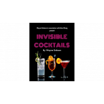 Invisible Cocktail (Gimmick and Online Instructions) by Wayne Dobson and Alan Wong