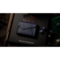 Luxury Leather Playing Card Carrier (Blue) by TCC