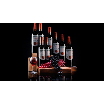 Marshall Multiplying Wine Bottles by Tora Magic