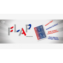 Modern Flap Card Double Sided (QH to KS / RED to BLUE) by Hondo