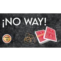 No Way! (Gimmicks and Online Instructions) by Marcel and Tango Magic