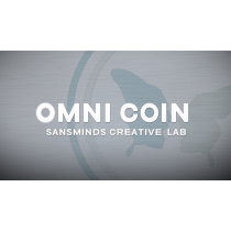 Limited Edition Omni Coin UK version (DVD and Gimmicks) by SansMinds Creative Lab