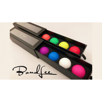 Perfect Manipulation Balls (1.7 Multi color; Blue Purple White Pink) by Bond Lee